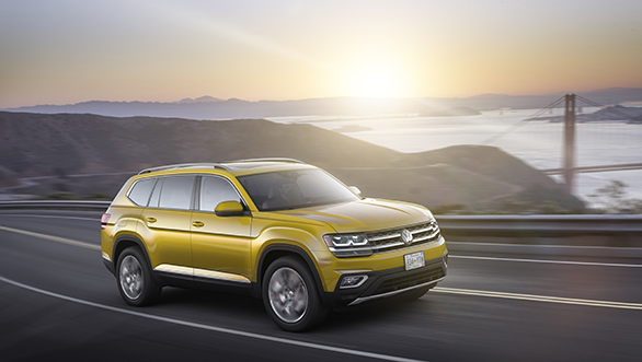 7-seater 2017 Volkswagen Atlas SUV unveiled for the US market