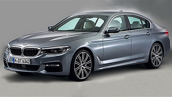 India-bound 2017 BMW 5 Series images leaked before official debut