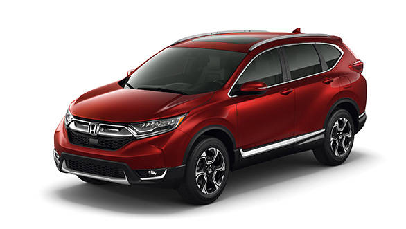 2017 Honda CR V unveiled in the US Overdrive