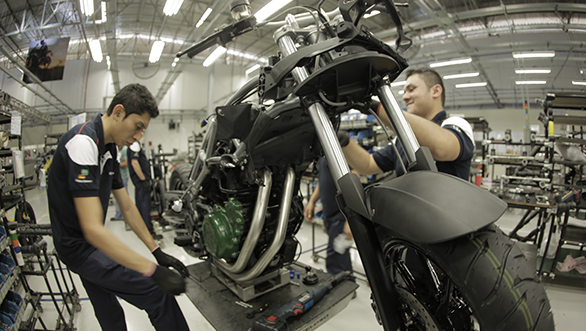 BMW Motorrad plant in Brazil begins production