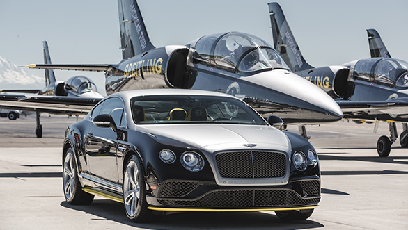 Bentley and Breitling association explained