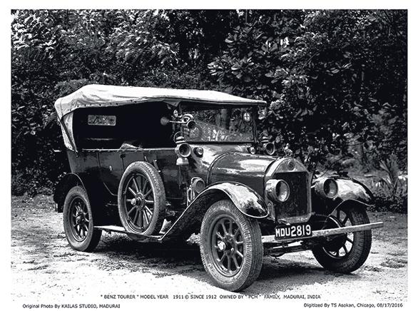 Benz Model Runabout Tourer (3)