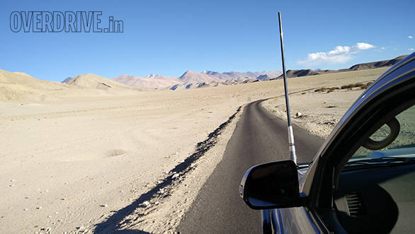 Best driving routes: Leh to Hanle