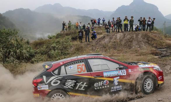 China Rally 2013 Jari Ketomaa  S6 SouEast Ling Shi Turbo V6