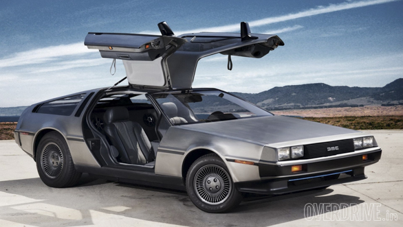 DeLorean DMC Back to the future original car (1)