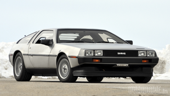 DeLorean DMC Back to the future original car (2)