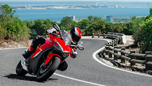 Ducati says the idea behind the Supersport is to create a motorcycle that's a bit less extreme compared to the Panigales