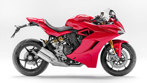 The Supersport uses the Hypermotard derived 939 motor that puts out 113PS