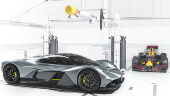Details of the upcoming AM-RB 001 hypercar