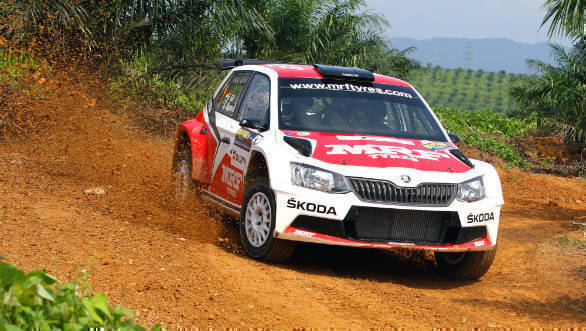 Gaurav Gill at Shakedown (Oct 28) (1)