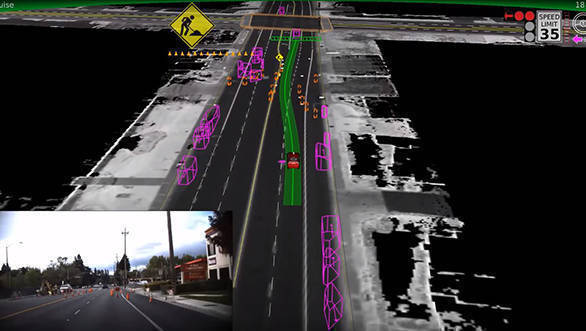 Google self driving tech