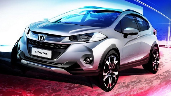 2017 Honda WR-V sketch revealed