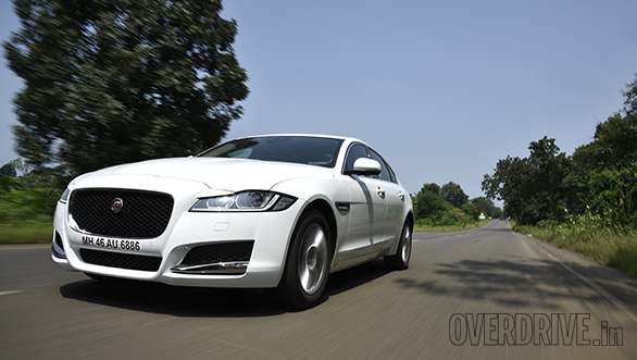 2016 Jaguar XF road test review