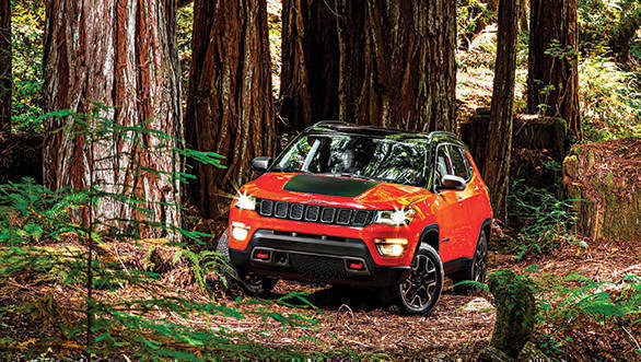 2018 Jeep Compass Trailhawk SUV bookings open across India