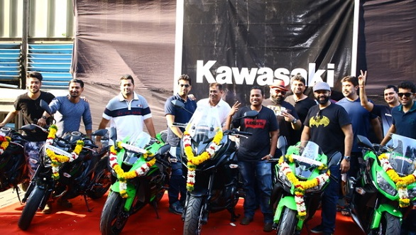 India Kawasaki Motors delivers motorcycles to 13 customers duped by SNK Palm Beach