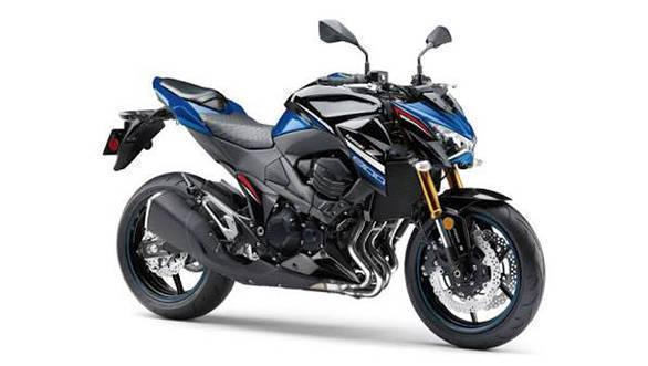 Kawasaki Z800 Blue Edition