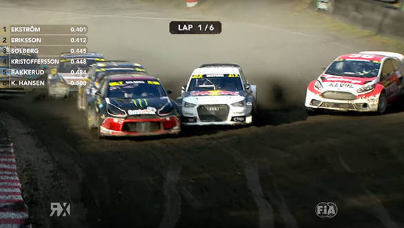 Video worth watching: Kevin Eriksson's stunning overtake at the German RX