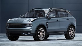 Geely unveils new Lynk & Co 01 compact SUV
