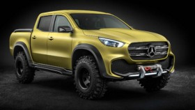 Mercedes-Benz reveals the X-Class Concept