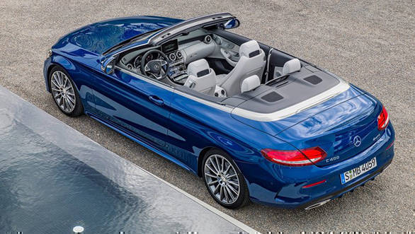 Mercedes Benz C-Class Cabriolet two