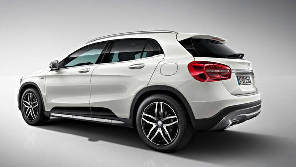 Mercedes-Benz GLA 220d 4Matic Activity Edition two