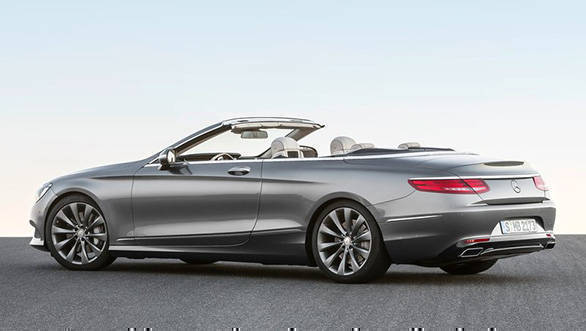 Mercedes Benz S-Class Cabriolet two
