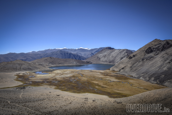 That beautiful emerald lake on the opposite page is the holy Ya Ya Tso high altitude lake