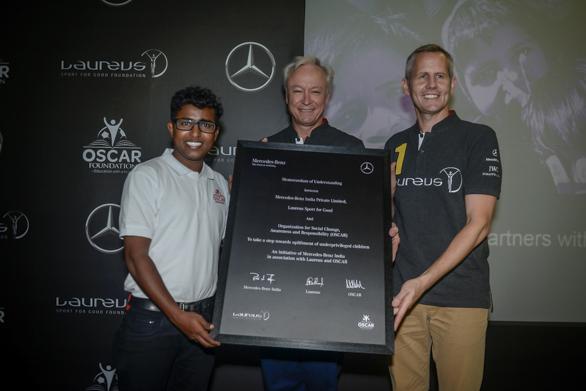 Mercedes-Benz partners with Laureus Sport