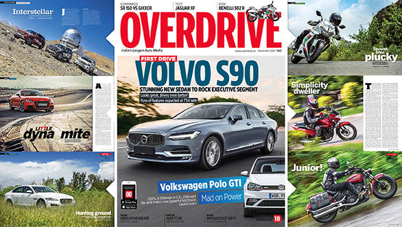 November 2016 issue of OVERDRIVE on stands now