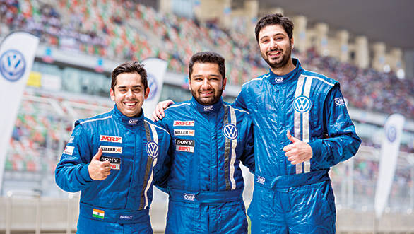 So that's the secret, shorter is faster apparently! Champion Ishaan Dodhiwala on the left, championship runner up Karminder Singh and yours truly on the right