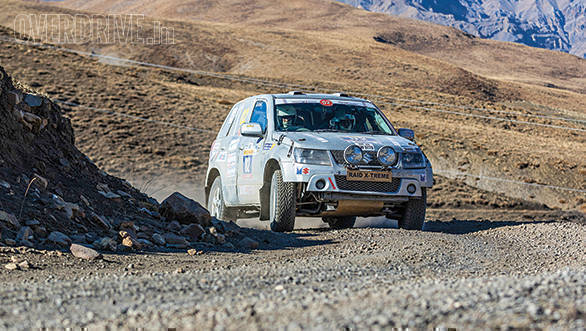 Suresh Rana won his 10th Maruti Suzuki Raid de Himalaya this year aboard his trusty Grand Vitara