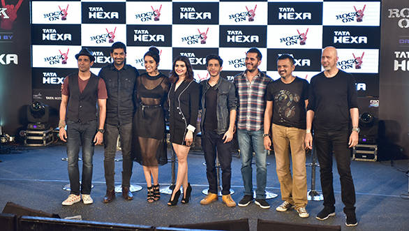 Tata Hexa partners with Excel Entertainment for Rock On 2