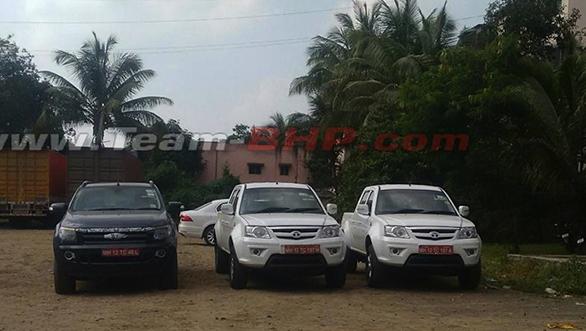 Tata-Xenon-facelift-spied