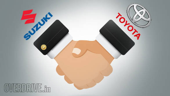 Toyota looking to produce and jointly sell models developed by Maruti Suzuki in India and abroad, Suzuki to get Toyota's engine tech