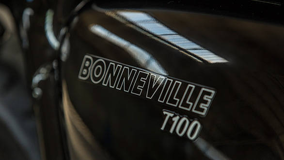 The Bonneville name is now being used only with the T100 and the T120