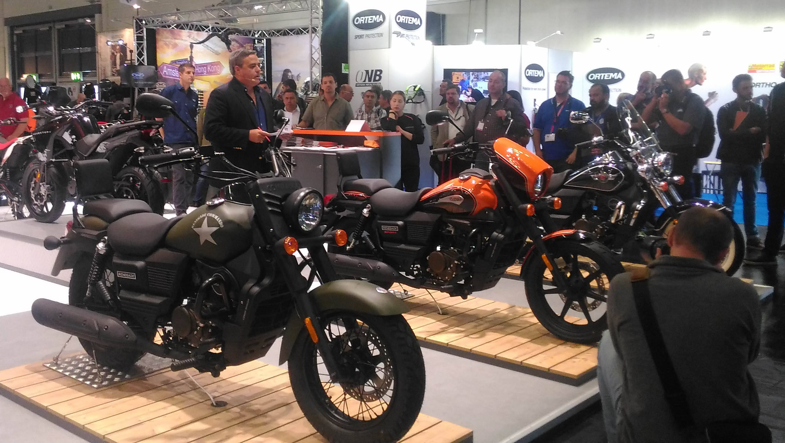 UM Motorcycles debut in Europe at INTERMOT 2016 feature image