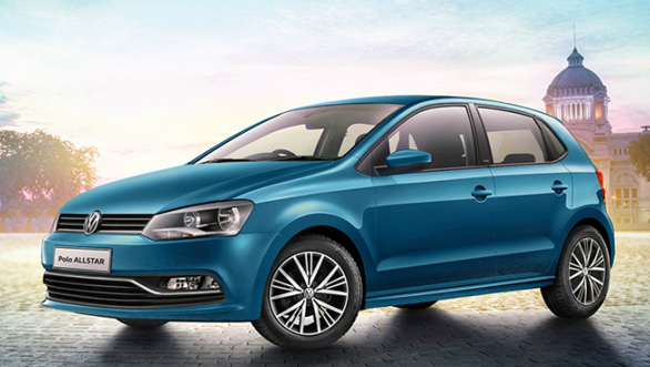 volkswagen polo allstar unveiled in india overdrive. Black Bedroom Furniture Sets. Home Design Ideas