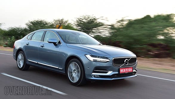 Volvo S90 Sedan To Be Launched In India On November 4 2016 Overdrive