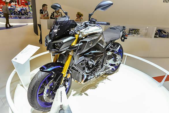 Presse-Konferenz Yamaha, Yamaha MT-10SP, Halle 6
