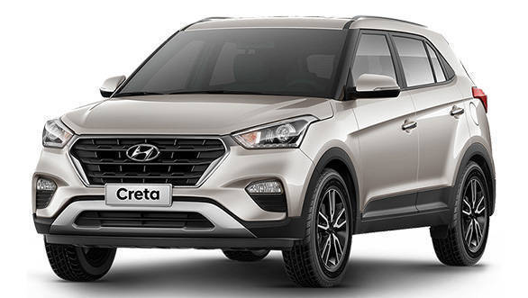 India-bound Hyundai Creta facelift showcased at 2016 Sao Paulo Motor Show