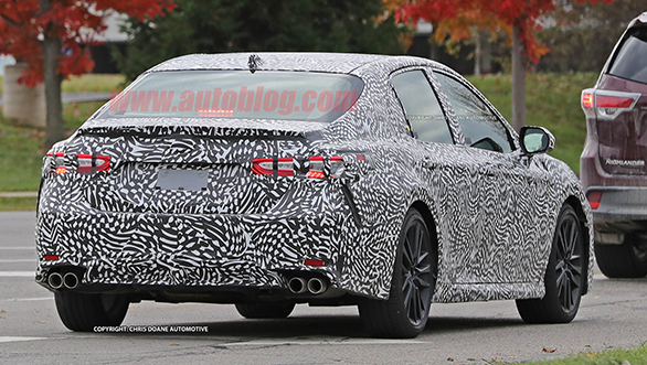 2018 Toyota Camry spotted testing (18)