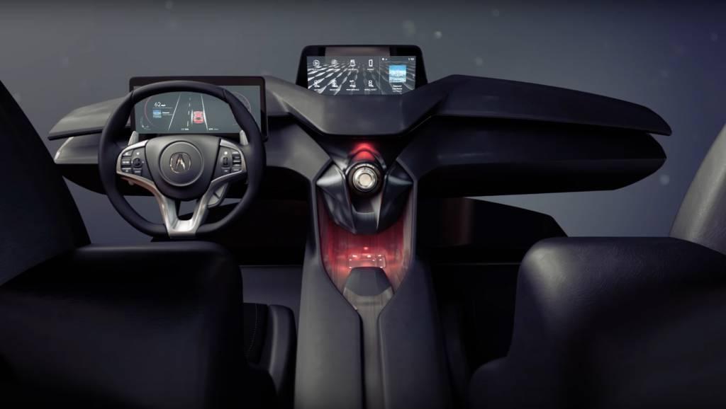Acura Precision Cockpit shows the future of in-cabin design ... | {Auto cockpit 27}