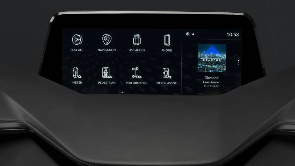 The Acura Precision Cockpit previews the Android-based, next-generation Acura OS that will power future production cars, providing secure access to mobile apps, data and content. The user interface is clean and simple, clearly displaying information to the driver through a center display with two dedicated zones.