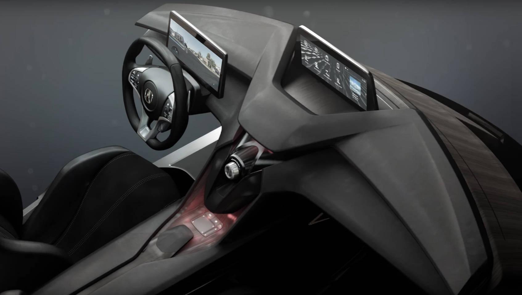 Acura Precision Cockpit shows the future of in-cabin design