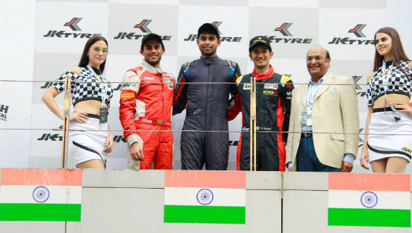 Anindith Reddy wins the 2016 Euro JK16 Championship
