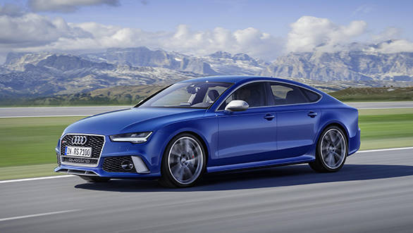 2016 Audi RS 7 Performance launched in India at Rs 1.59 crore