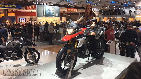 EICMA 2016: India-bound BMW G 310 GS unveiled
