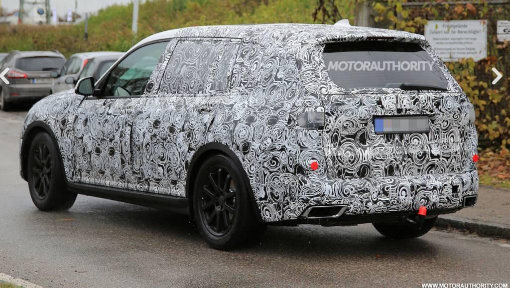 BMW X7 Spied