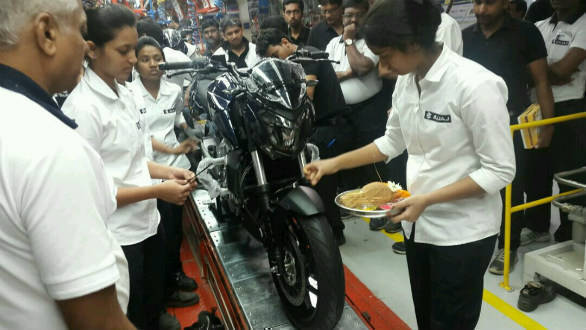 Bajaj Auto begins its 400cc motorcycle production