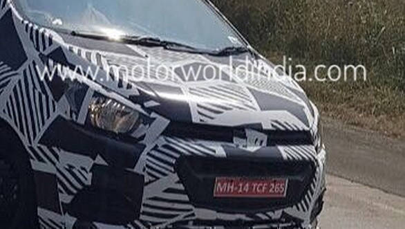 Spied: Chevrolet Beat facelift spotted testing in India